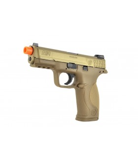 Cybergun S&W M&P9 GBB Tan 6mm Airsoft Tabanca