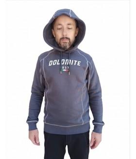 Dolomite - Sessanta Logo SweatShirt - Smog Grey