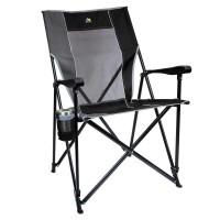 GCI Outdoor - Eazy Katlanır Kamp Sandalyesi XL - Siyah
