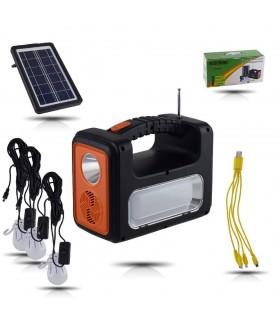 Gold Silver GS-535 Güneş Enerjili Solar Kamp Lambası