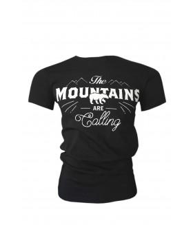 Guntack Mountains Erkek Siyah T-shirt