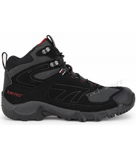 Hi-Tec Makau Wp Black/Charcoal Red Erkek Bot