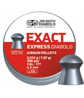 JSB Diabolo Exact Express 4.52 mm 7,87 gr Havalı Tüfek Saçma