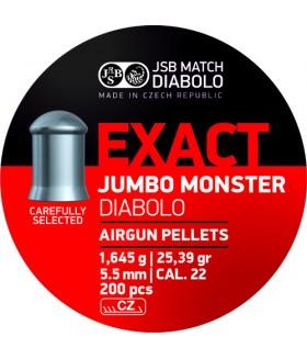 JSB Jumbo Exact Monster Dıabolo 5.5 Mm 1.645gr Havalı Tüfek Saçma
