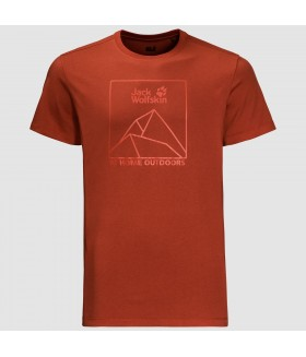 Jack Wolfskin Peak T Men Erkek T-shirt