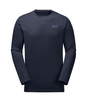 Jack Wolfskin Essential Longsleeve Erkek Tshirt