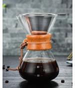 Nurgaz Campout Fi̇ltre Kahve Cam Set 400 Ml