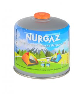 Nurgaz NG 201 Yedek Gaz Kartuşu 450 Gr Vidalı Kartuş