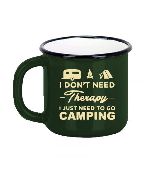 Emaye Macera Kupası - Camping - Haki