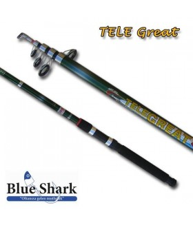 Blue Shark Tele Great 3.60 Metre Teleskobik Kamış