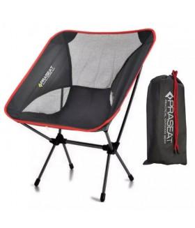 PRASEAT Katlanır Kamp Sandalyesi - Çantalı