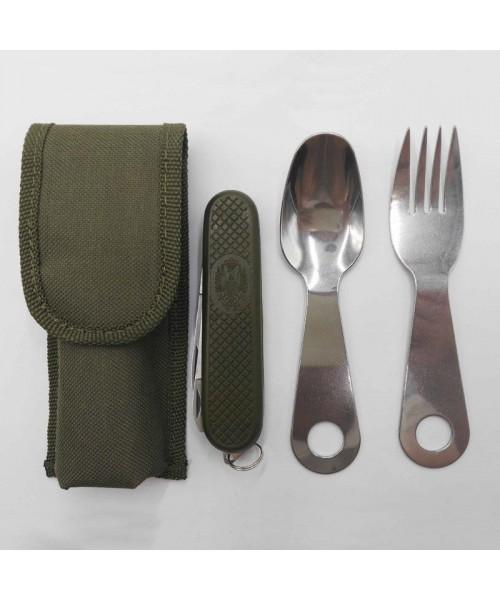 SQUARE - Çatal Kaşık Bıçak Set