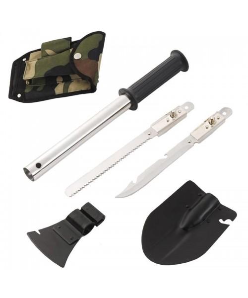 SQUARE Balta - Bıçak - Testere - Kürek Set