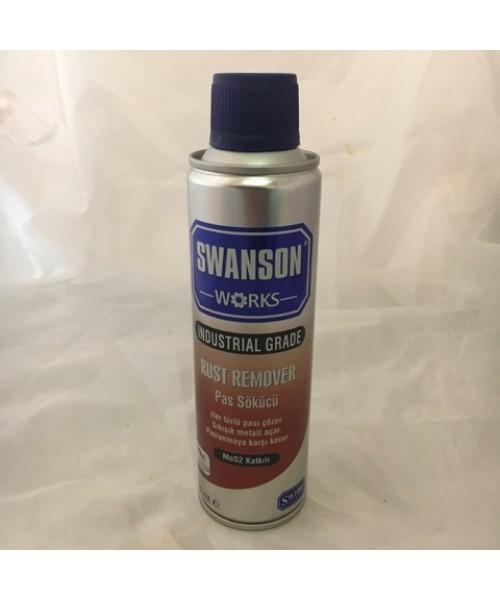 Swanson Works Rust Remover Pas Çözücü Sprey - 250 ml