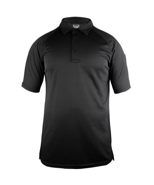 Sivugin Polo Yaka Taktikal Tişört - Siyah