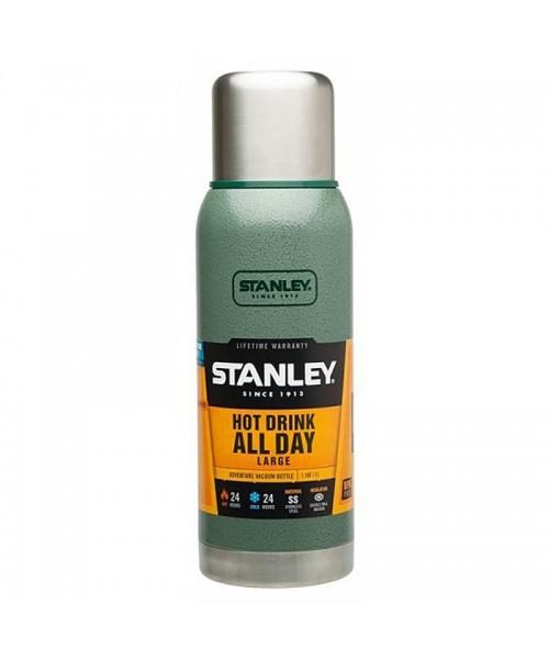 Stanley Adventure Vakumlu Termos 1 Lt - Yeşil