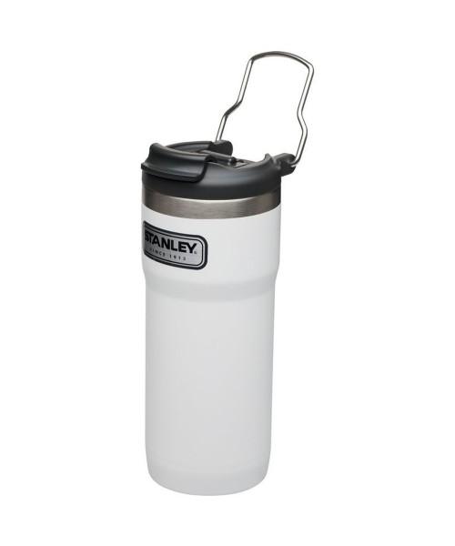 Stanley Klasik Vacuum Lock Termos Kupa 0,47 LT - Beyaz
