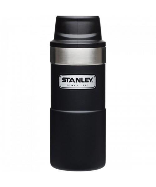 Stanley One-Hand 2.0 Çelik Termos Bardak 0,35 LT - Siyah