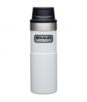 Stanley One-Hand 2.0 Çelik Termos Bardak 0,47 LT - Beyaz