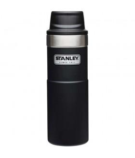 Stanley One-Hand 2.0 Çelik Termos Bardak 0,47 LT - Siyah