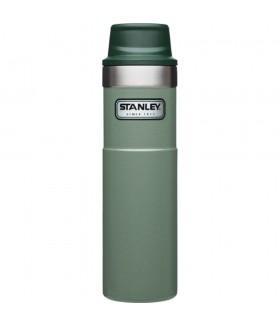 Stanley One-Hand 2.0 Çelik Termos Bardak 0,47 LT - Yeşil