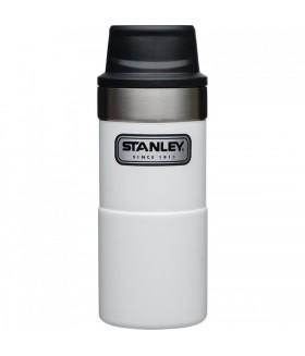 Stanley One-Hand 2.0 Çelik Termos Bardak 0,35 LT - Beyaz