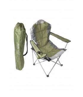 SUMMIT - Berkley Yüksek Konforlu & Takviyeli Kamp Sandalyesi Forest Green