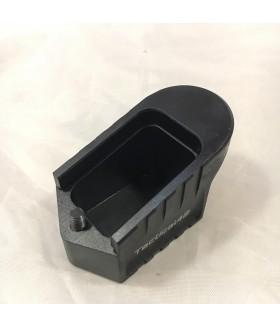 Sarsılmaz SAR9 +5 Şarjör Kapasite Artırıcı Alüminyum Şarjör Kapağı - Eloksal / Siyah