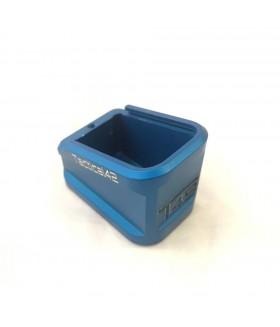 +5 Şarjör Kapasite Artırıcı Alüminyum Şarjör Kapağı - Mavi