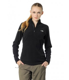 The North Face W 100 Glacier 1/4 Zip Bayan