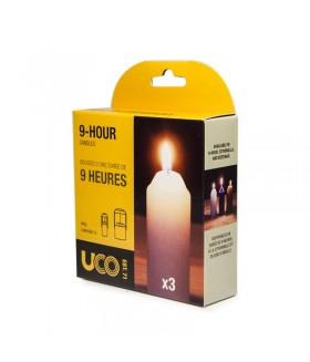 UCO GEAR Original Candle Lantern Yedek Mum
