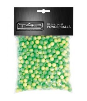 T4E Powderball Cal .43 Kauçuk Bilye - 500 lük