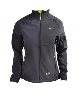A&C Bayan Softshell Outdoor Ceket Mont - Gri