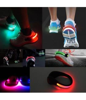 Yürüyüş ve Bisiklet için Ayakkabı Lambası