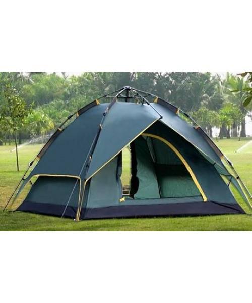 3 Kişilik Otomatik Kurulumlu Kamp Çadırı - Gölgelikli