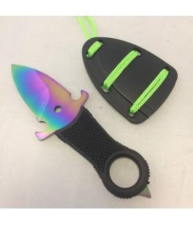 Rainbow Boyun Askılı Fırlatma Bıçağı