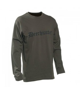 Deer Hunter - Long Sleeve Logo Tişört