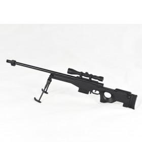 1:3 ölçekli Minyatür L96 Black AWM Dekoratif Tüfek