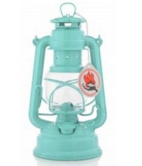 Feuerhand  Hurricane Lantern - Gemici Feneri - Light Green