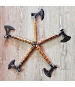 El Yapımı Dövme Çelik Kampçı Baltası