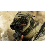 Taktikal Fular - Military Boyunluk - SİYAH / BEYAZ