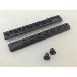 Taktikal Tüfek Picatinny Ray - Plastik -14.5 cm