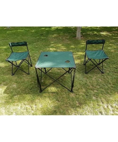 Katlanır Kamp Masası Ve Sandalye Seti
