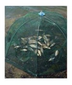 Katlanır Balık Ağı Tuzağı - 6 Girişli