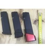 + 5 Şarjör Extension (Glock Şarjör Kapasite Arttırma Aparatı) Alüminyum