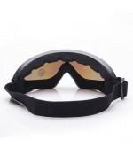 UV400 Toz Geçirmez Bisiklet Motor Kayak Paraşüt Gözlüğü