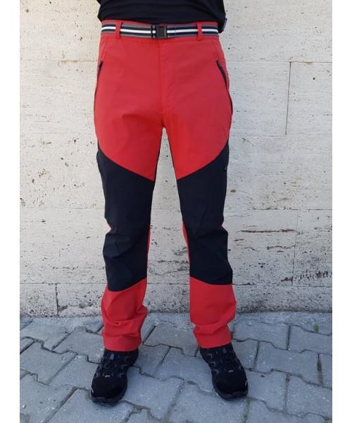 High Mountain - Verte Yürüyüş Pantolonu - Kırmızı Siyah