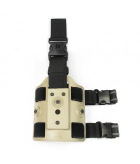 IMI Defense - Z2200 Taktikal Silah Kılıfı Bacak Bağlantı Platformu - TAN