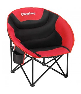 KingCamp Moon Katlanabilir Sandalye - Kırmızı