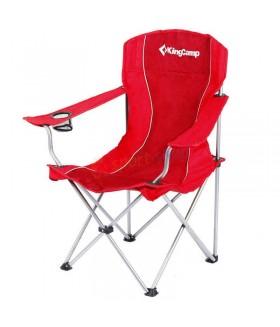 KingCamp Katlanabilir Sandalye - Kırmızı